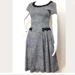 Myrtlewood Gray Retro Dress Size XS